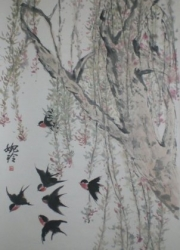 Yuen Ling Laurence-Willows and swallows