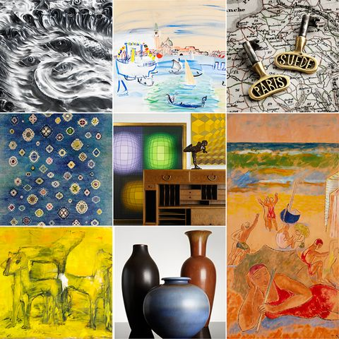 Post image for Stockholms Auktionsverk Modern Art & Design – Auction 11 May 13.00 pm