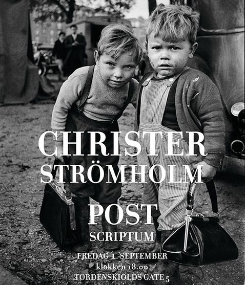 Post image for Blomqvist Oslo CHRISTER STRÖMHOLM – POST SCRIPTUM 1 sept-29 sept